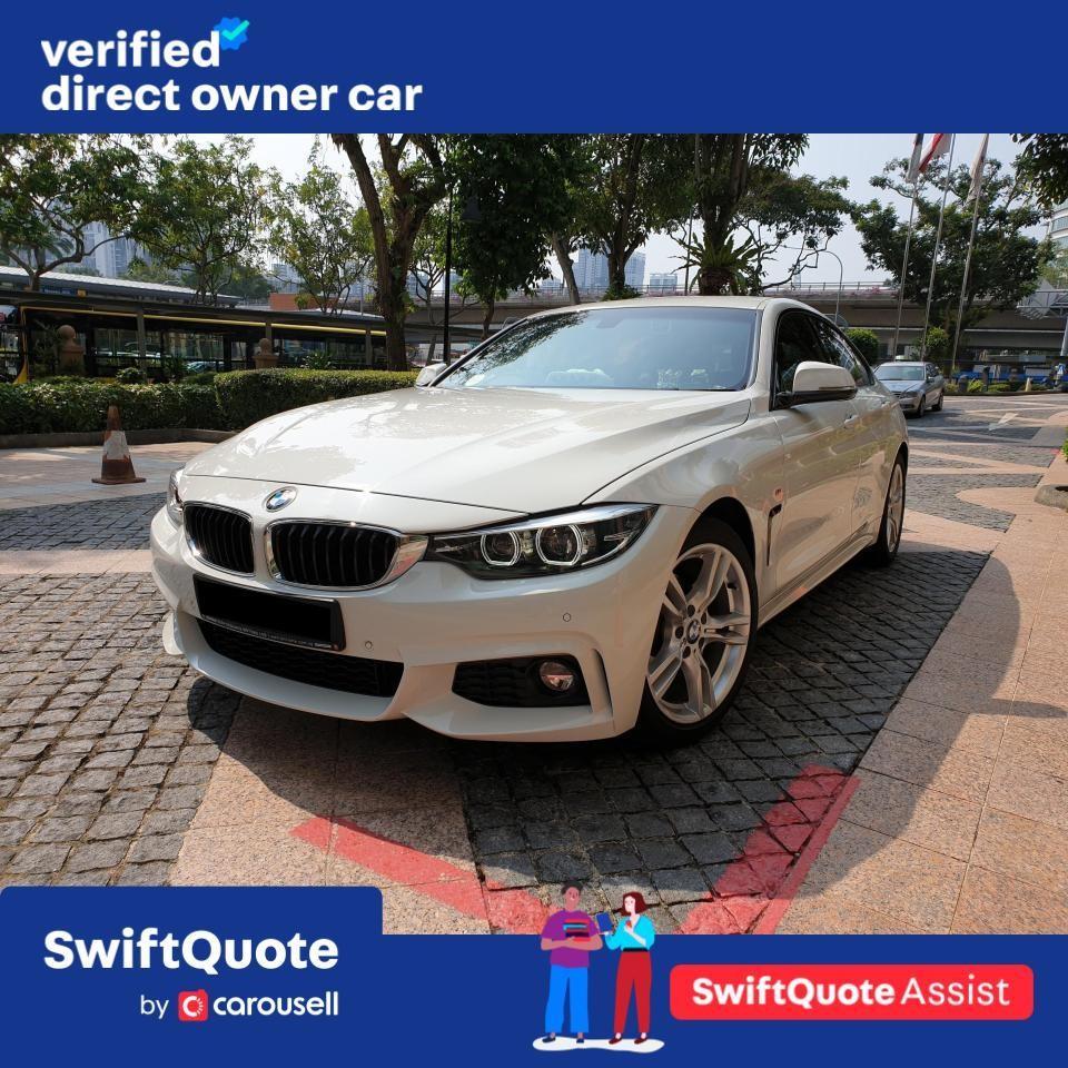 BMW 420i GRAN COUPE LED NAV MSPT Auto