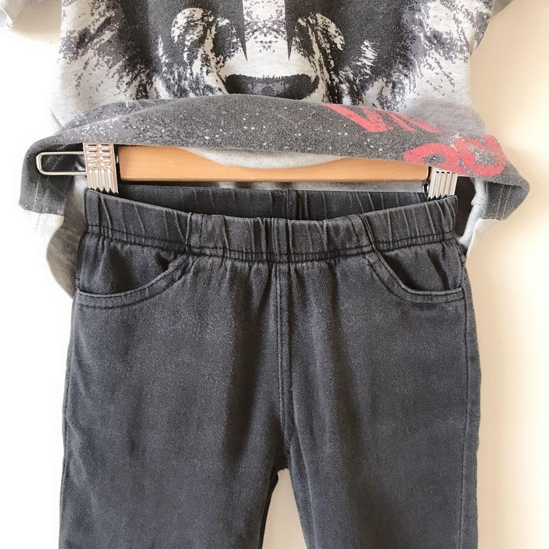 Boys T-shirt + shorts size 3-4