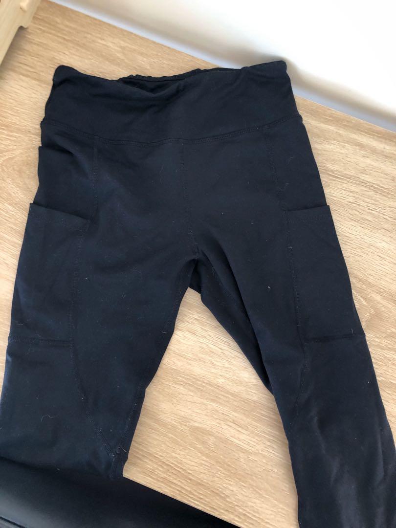 Brand New Black Exercise Leggings!