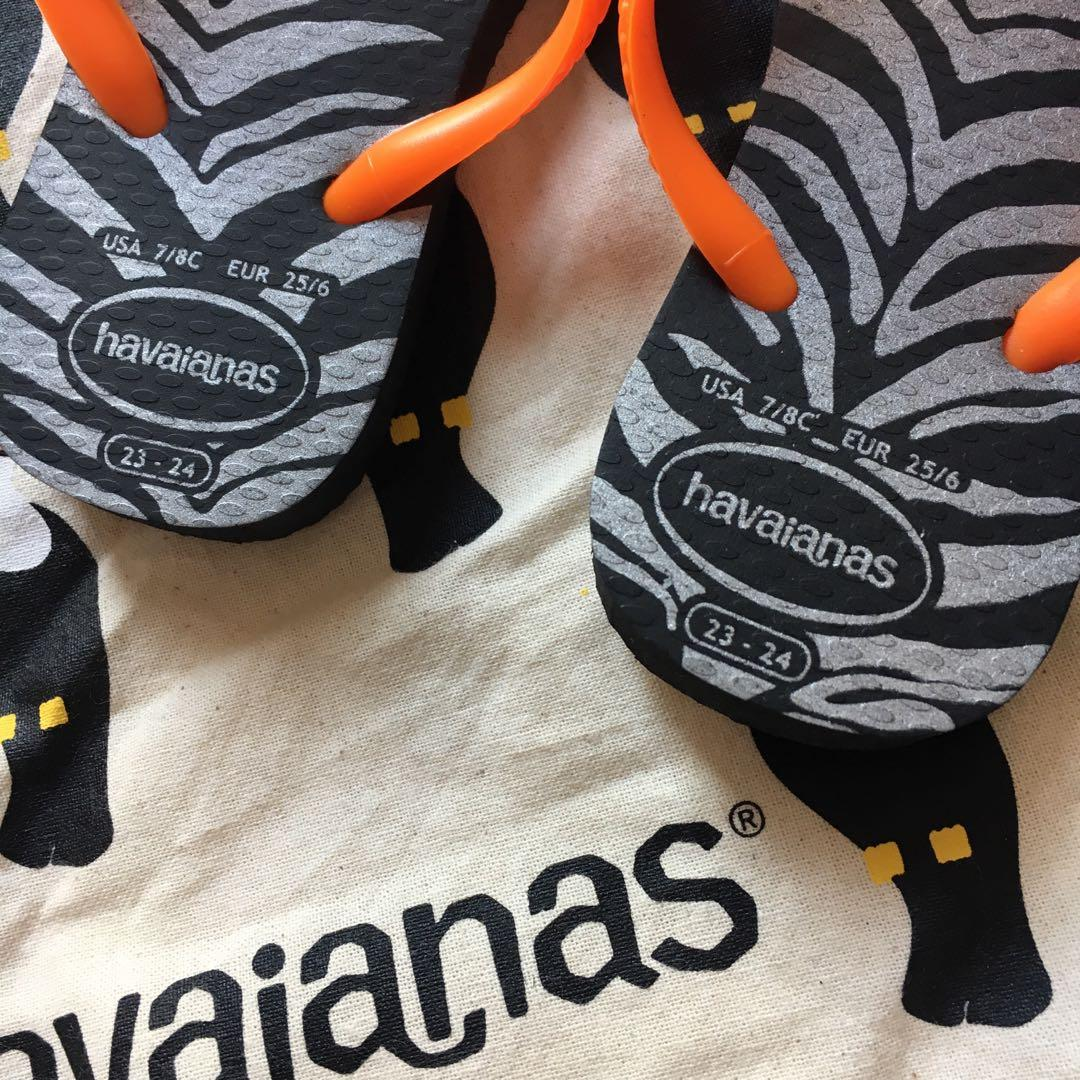 Brand New Toddler Havaianas Thongs | Size Eur 25/6