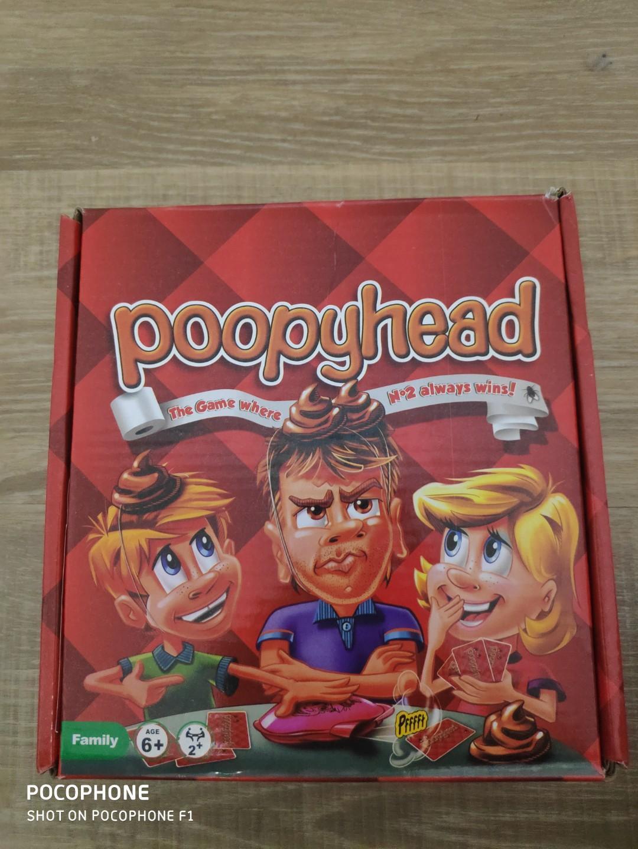 Buku Anak Games Poopy head