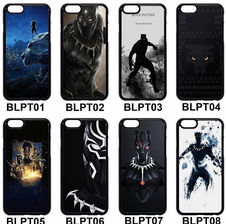 ✖️CASINGS✖️BlackPanther Phone Cases