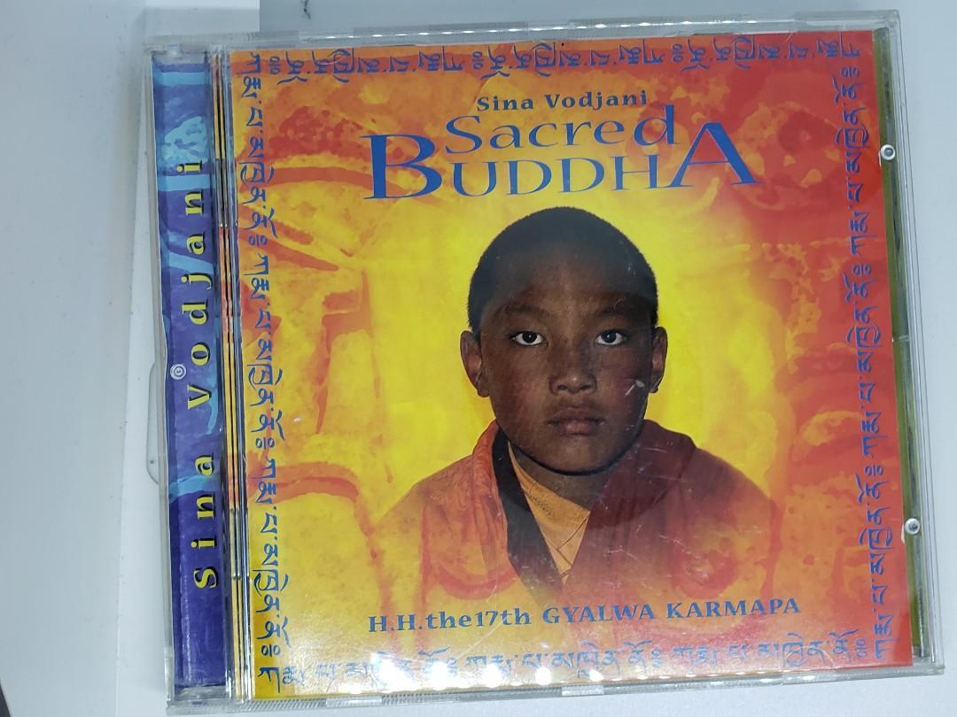 CD Sina Vodjani - Sacred Buddha - H.H. The 17th Gyalwa Karmapa #giftherhim (岩男仔)