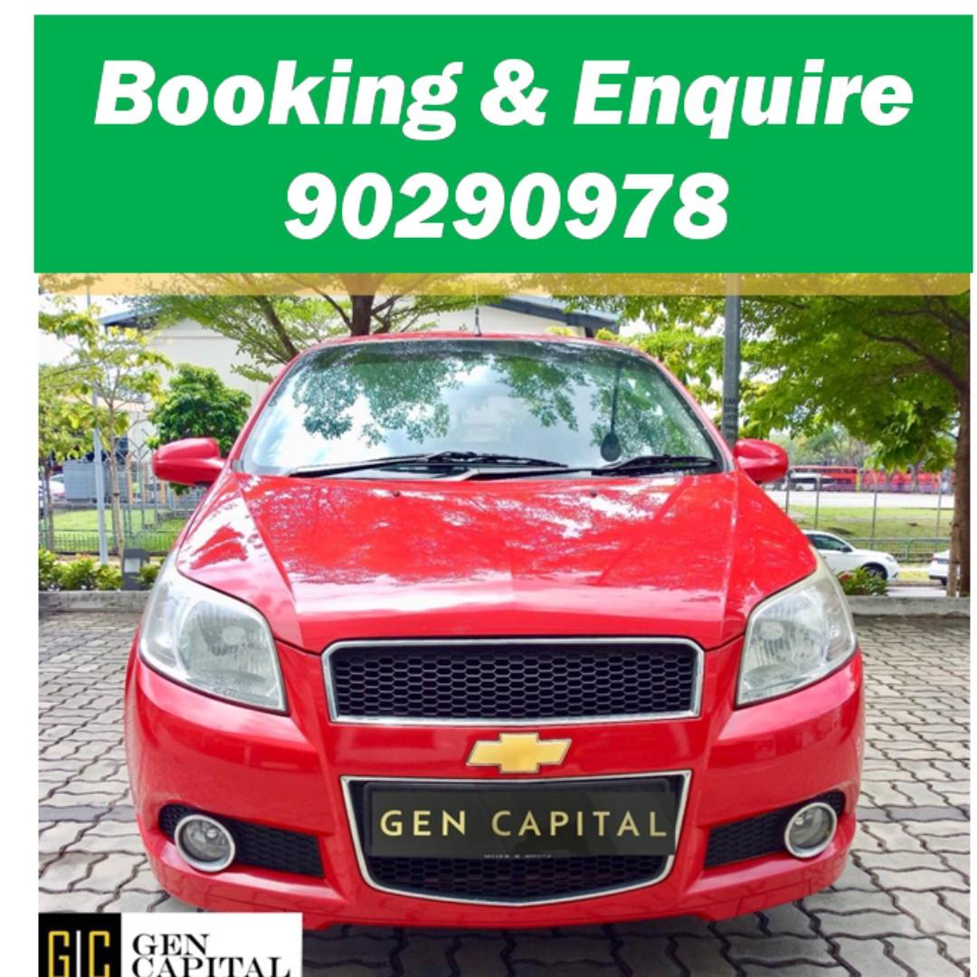 Chevrolet Aveo - Your preferred rental, With the Best service in Singapore!