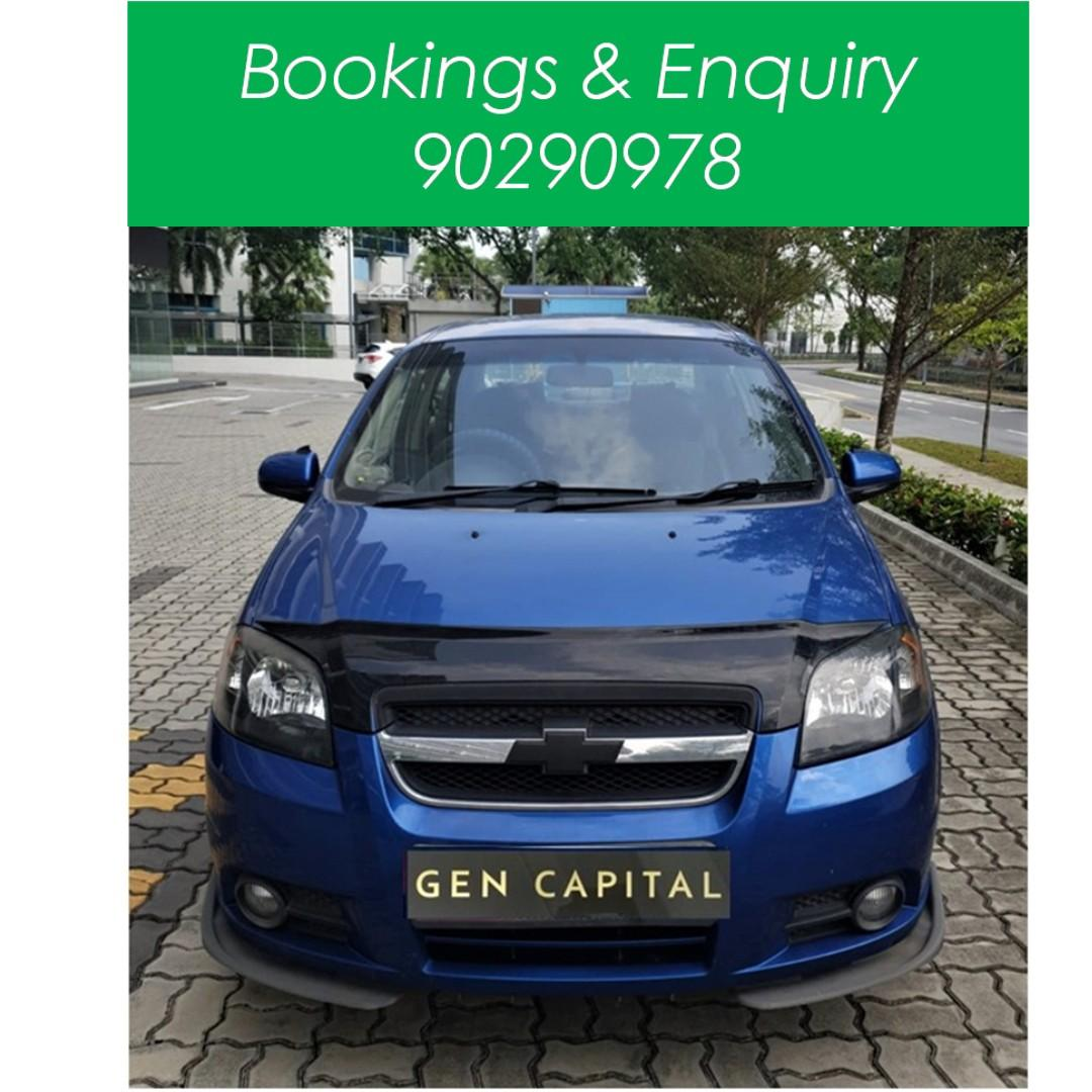 Chevrolet Aveo Sport - WHAT?! $500 driveaway!! YES! Whatsapp at 90290978