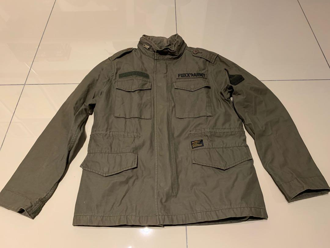 Fingercroxx M65 Parka with liner