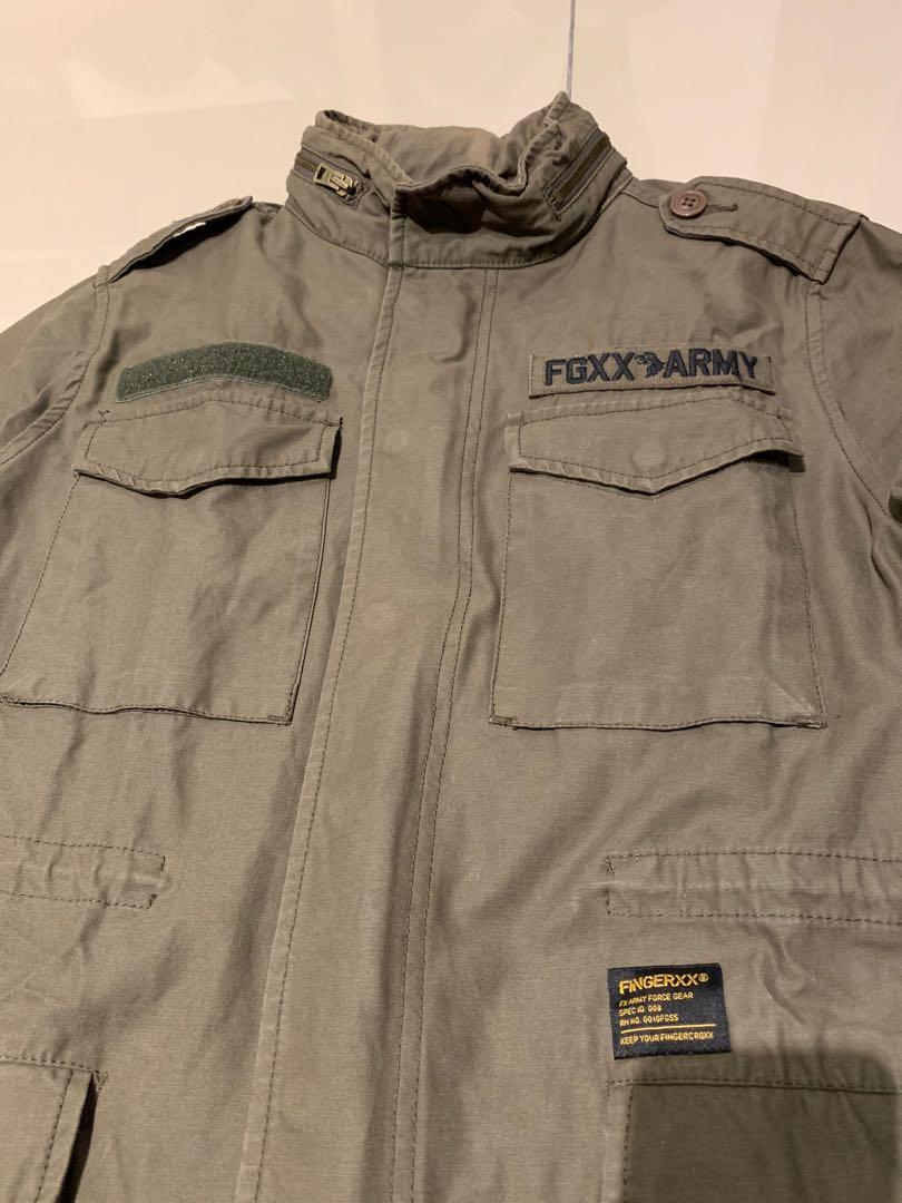 Fingercroxx M65 Parka with liner