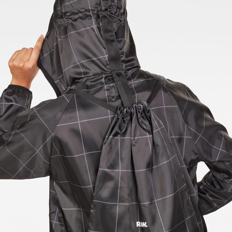 G-Star Raw Strett Hooded Parka + Gym Bag