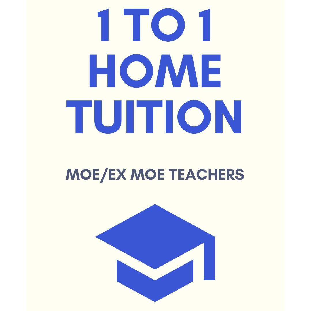 Home Tuition by Experienced MOE Teachers