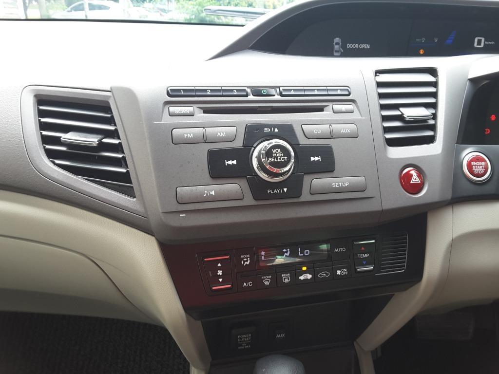 Honda CIVIC 1.5 HYBRID MODULO BODYKIT BOLEH FULL LOAN TUAN