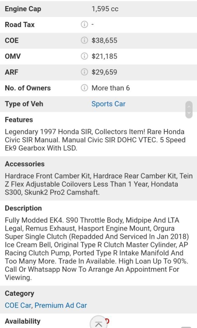 Honda Civic 1.6 VTI (M)