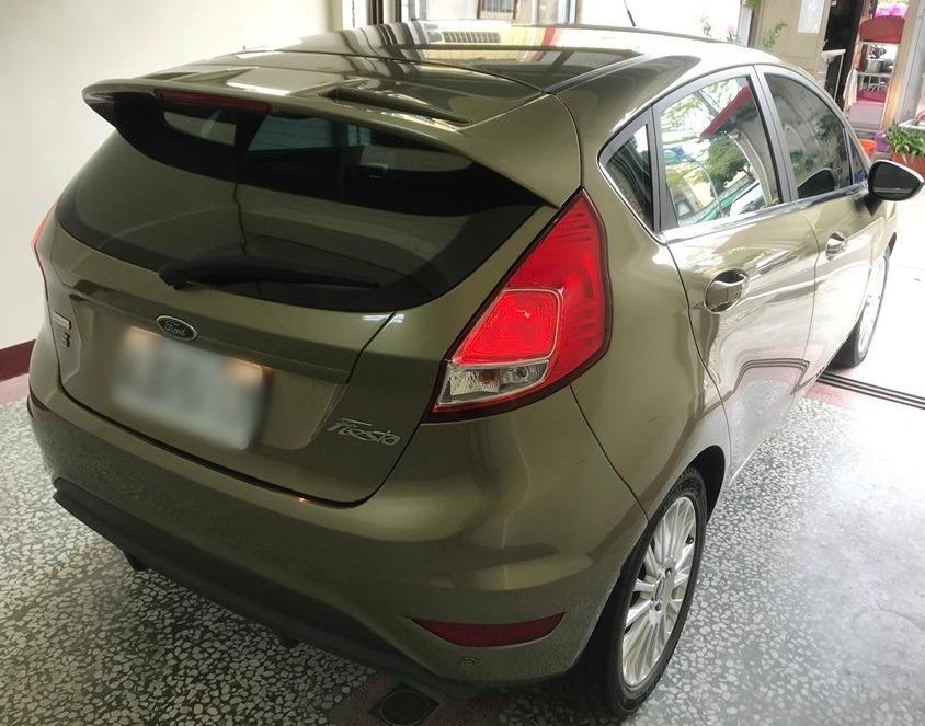 Jc car 2014年 Fiesta 1.0小鋼炮 超低里程原漆原鈑件 一手女用車庫車