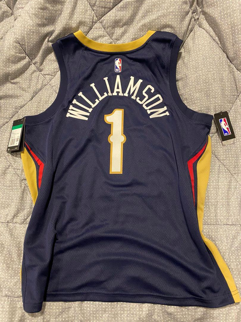 Jersey New Orleans Pelicans WILLIAMSON #1