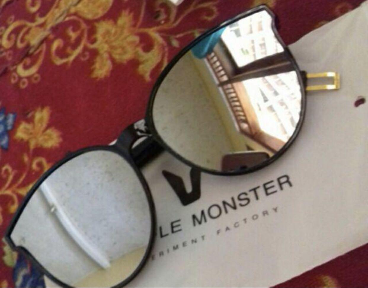 Kacamata Gentle Monster Import Silver Black Unisex Cwe Cwo