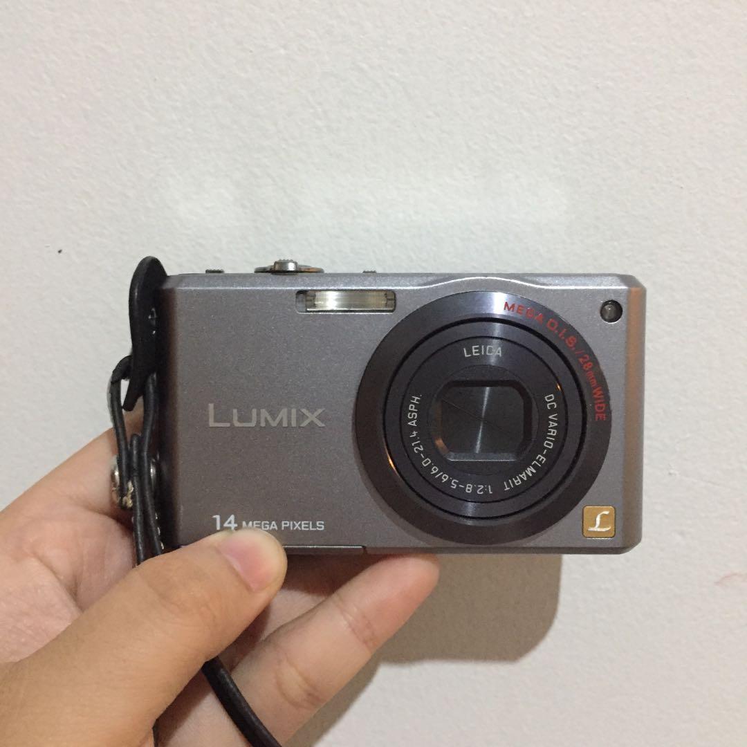 Kamera digital lumix with leica lens