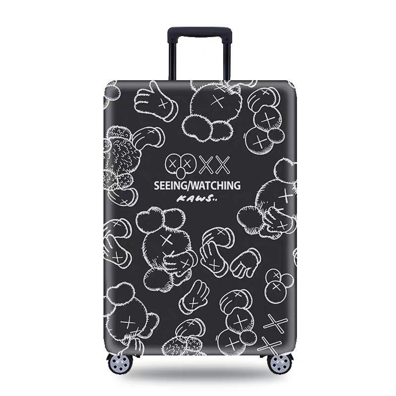 Kaws Luggage Covers