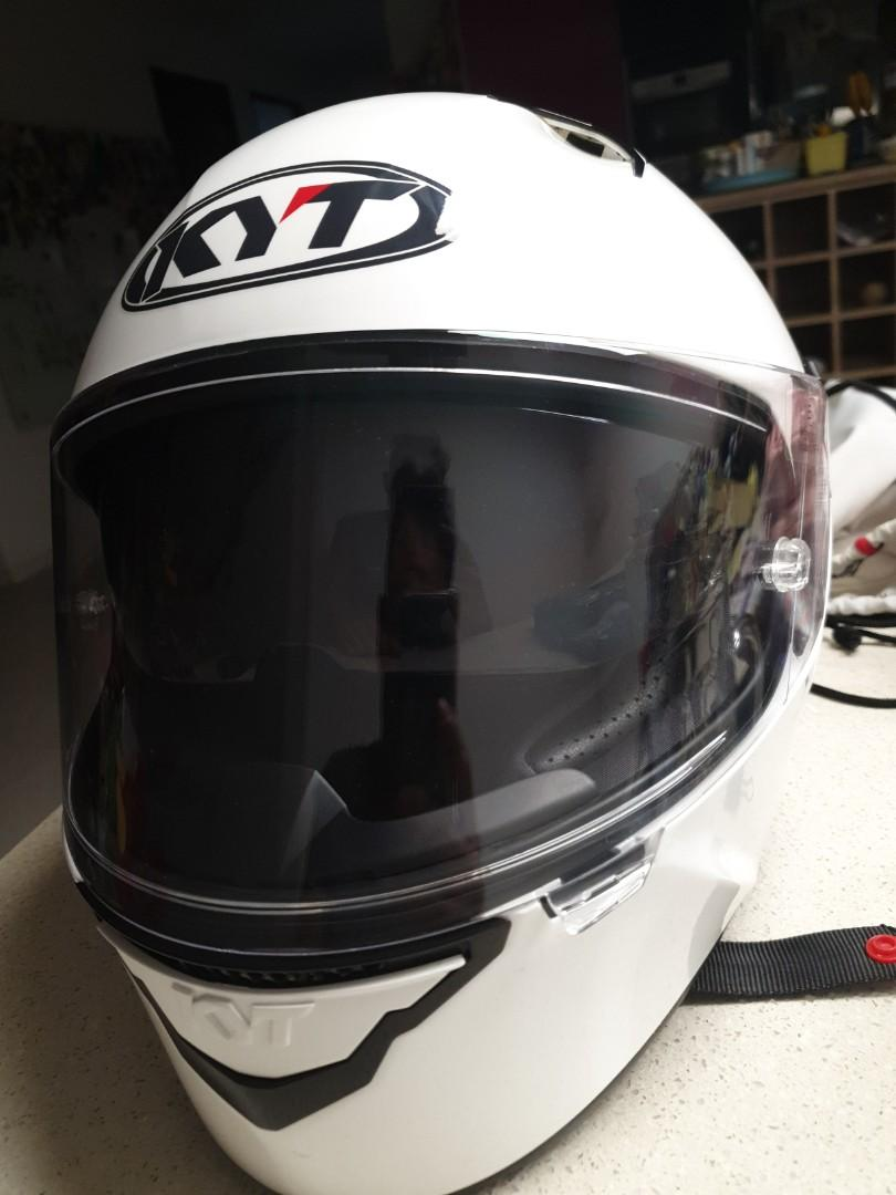 Full face helmet - KYT NFR with sun visor