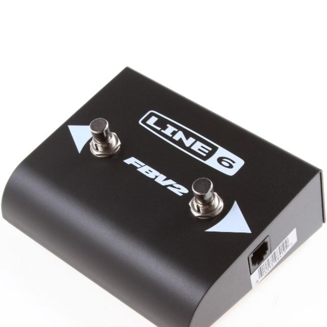 Line 6 FBV2 2 Button Foot Switch (limited stock) (limited time)