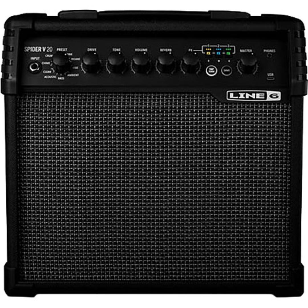 Line 6 Spider V 20 guitar amplifier (limited stock) (clearance)