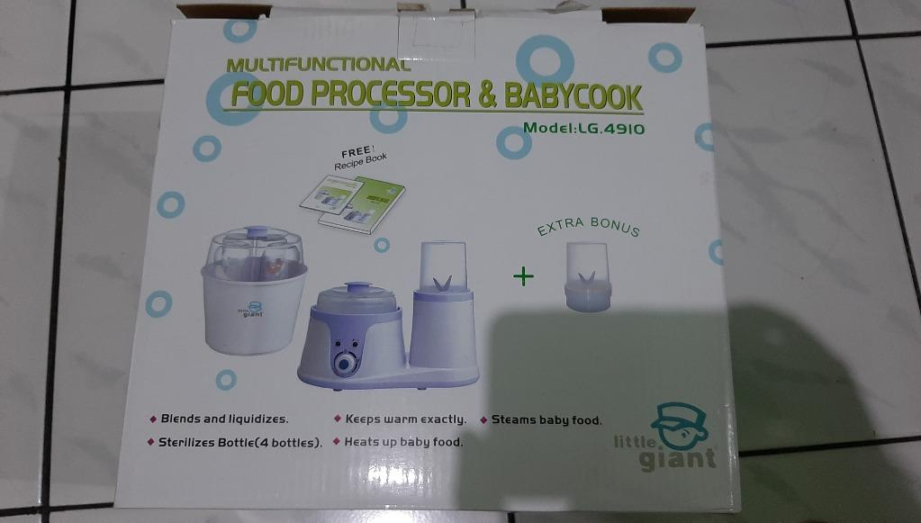 Little Giant Food Processor and Maker