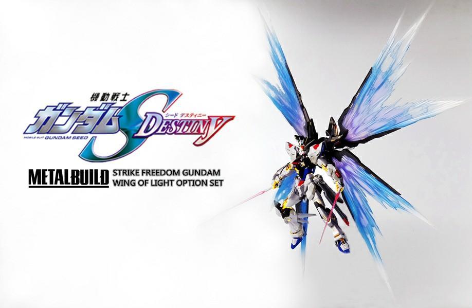 "Metal Build SEED Destiny Strike Freedom 攻擊自由鋼彈-光之翼""WING OF LIGHT"""