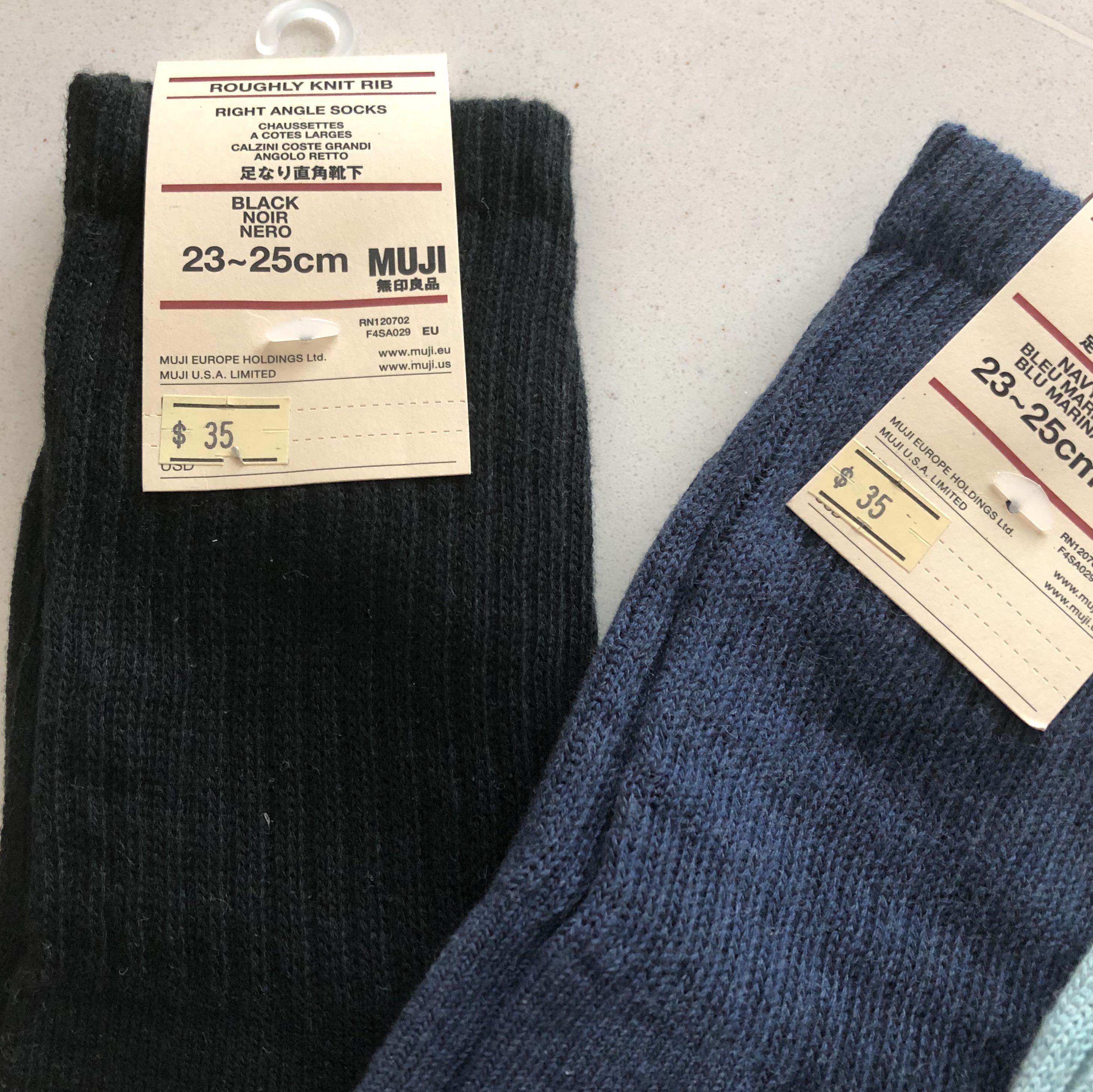 Muji- High Socks