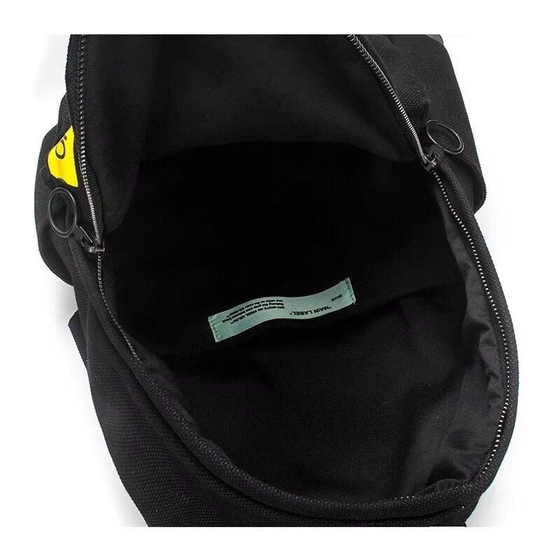 OFF-WHITE Backpack Laptop Travel Bag