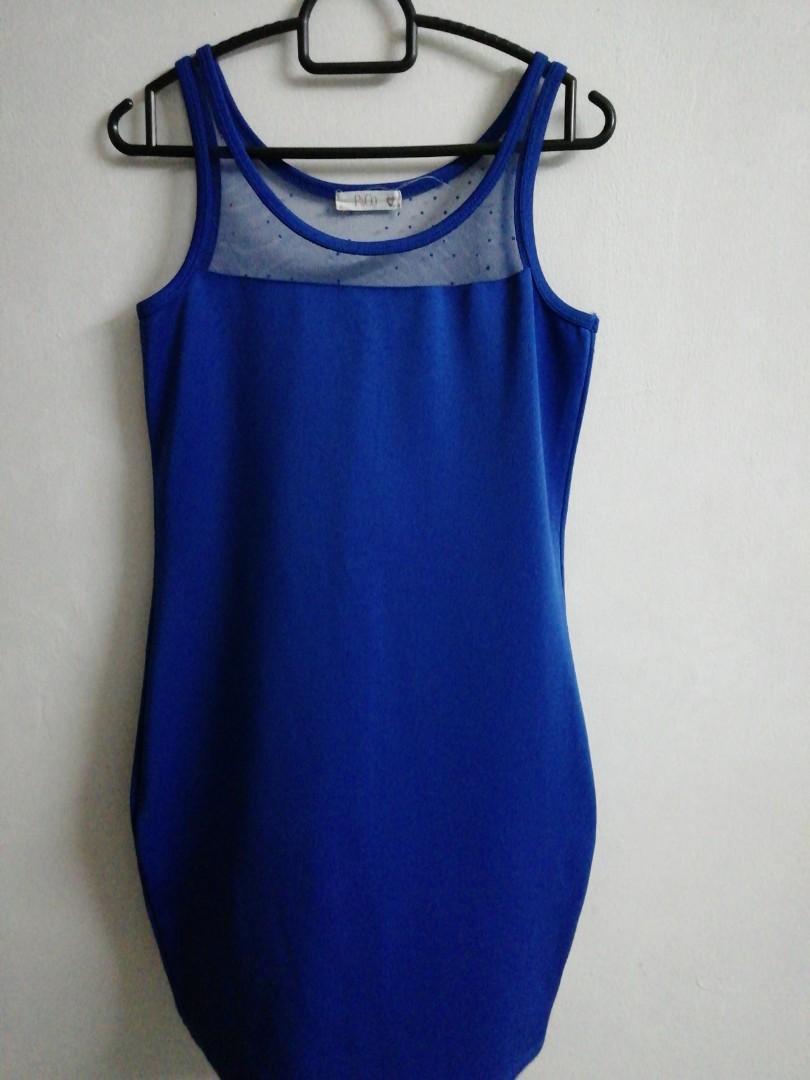 Padini blue bodycon