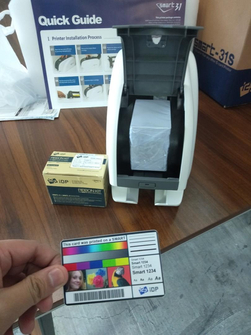 ID card printer Machine, ID Maker, PVC card printer, Copier - Xerox