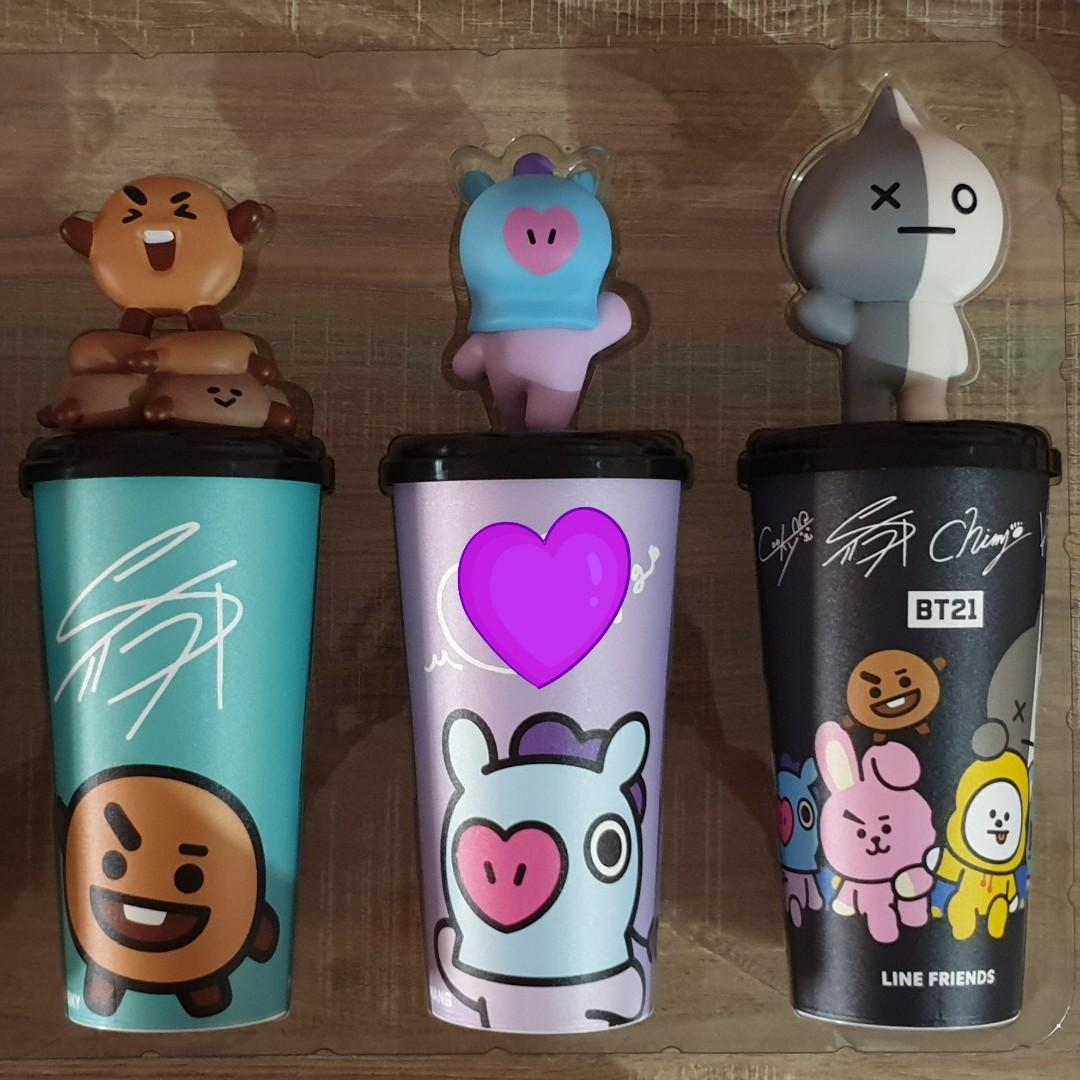 [PURCHASED] MBO Malaysia x BT21 Limited Edition Topper Cup (2/11) > Shooky Available!