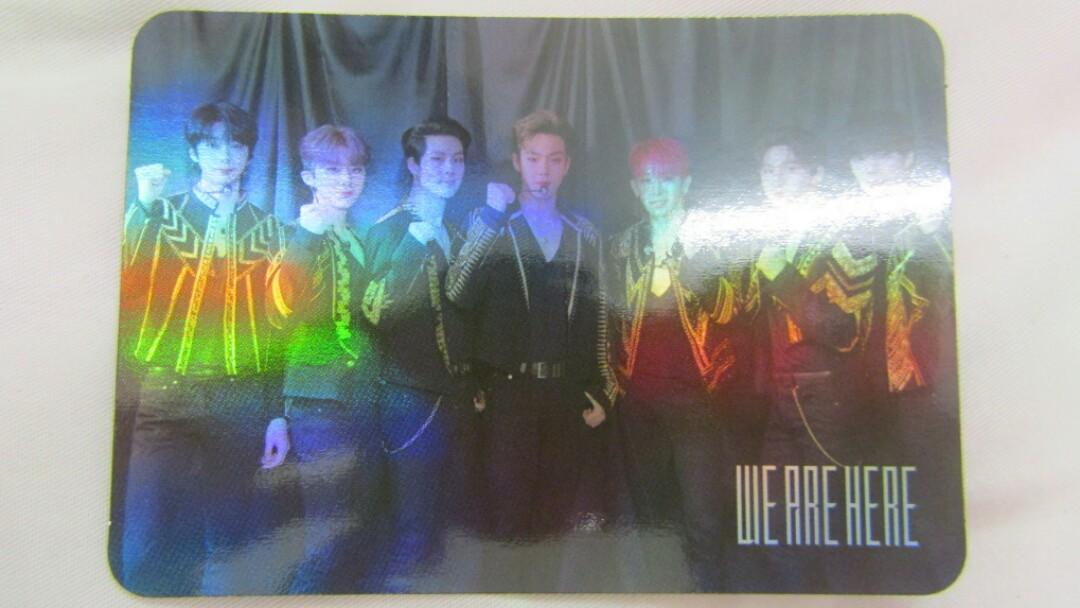 [SOLD] MONSTA X WORLD TOUR WE ARE HERE IN SEOUL HOLOGRAM PHOTOCARD