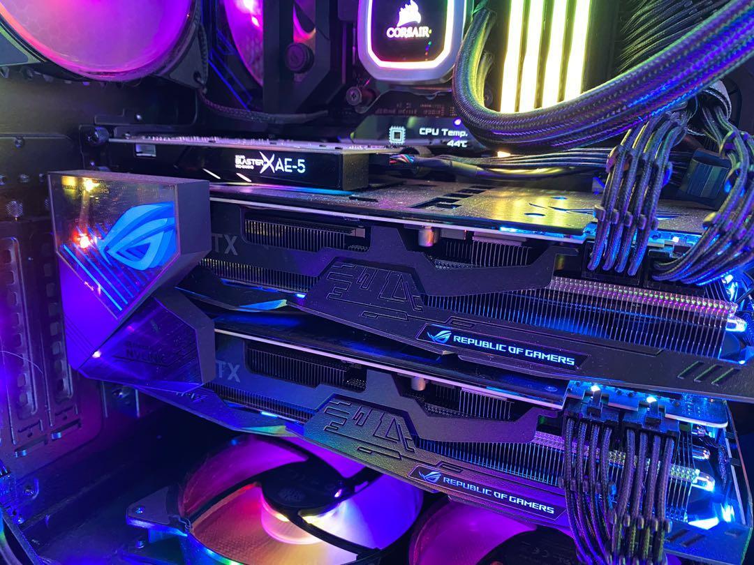 ASUS ROG Strix GeForce RTX 2080 Ti OC EditionO11G Triple-Fan 11GB GDDR6