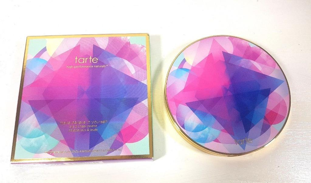 TARTE Make Believe In Yourself Eye & Cheek Palette Limited Edition. BNIB.