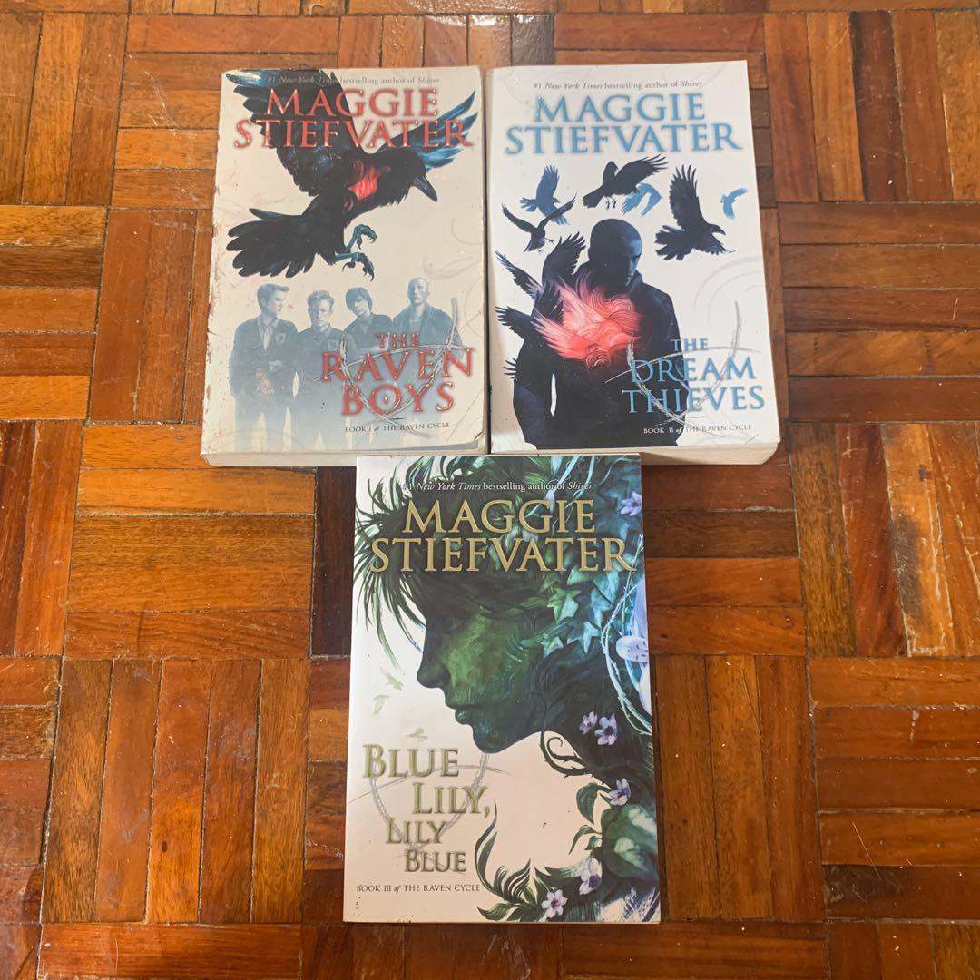 The Raven Cycle by Maggie Stiefvater (The Raven Boys, The Dream Thieves, Blue Lily, Lily Blue) Young Adult YA Books