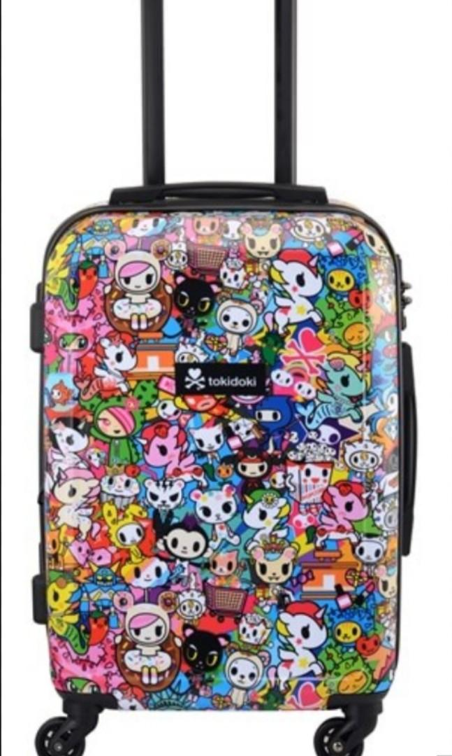 TOKIDOKI EXPANDABLE TRAVEL LUGGAGE 20""