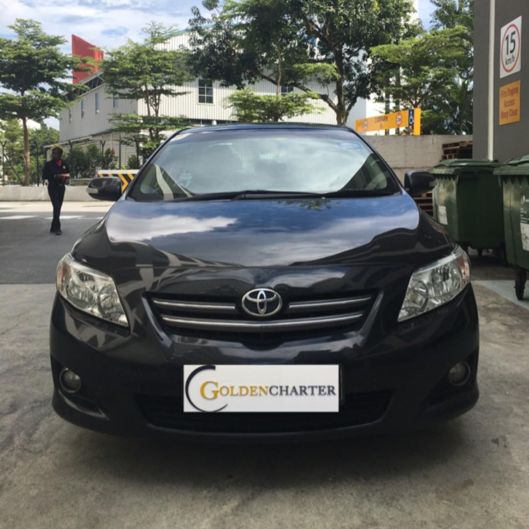 Toyota Altis For Rent, Gojek weekly rentaal Rebate. PHV ready, Ryde |Tada |Grab |Gojek