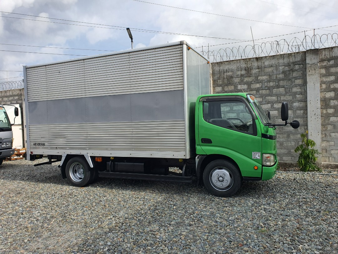 Toyota Dyna Aluminum Closed Van 14ft - New Arrival Surplus Japan - isuzu - fuso - dropside