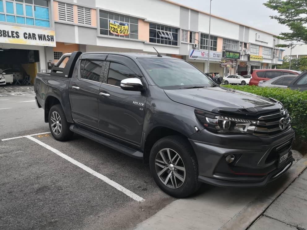Toyota Hilux Revo 2.4 (A) Kereta Sewa Selangor KL 4x4 Pickup Truck