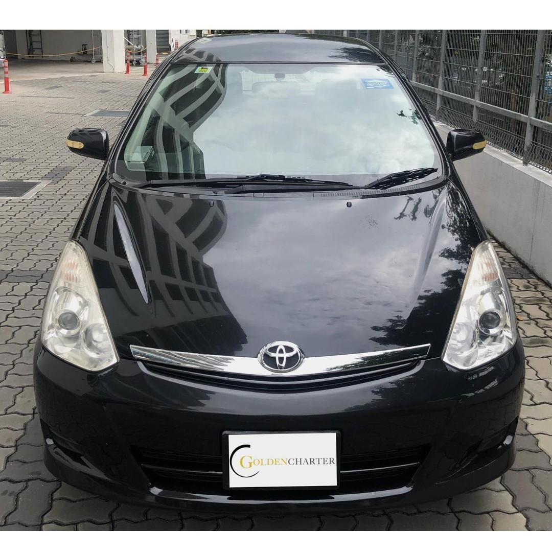 Toyota Wish Rental , Weekly rental rebate. Gojek|Grab|Tada|Ryde