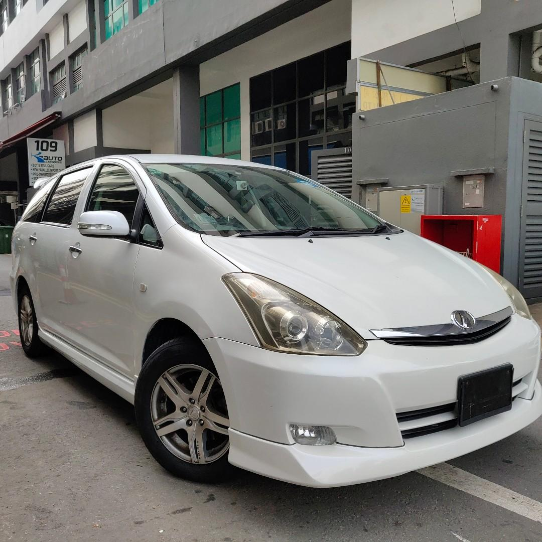 Toyota Wish Rental for Grab/Gojek or Personal Use!!!!