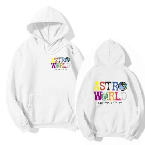 Travis Scott Astroworld hoodie look mom I can fly rap hip hop