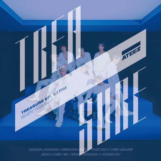 TREASURE EP. EXTRA: Shift The Map Malaysia Group Order