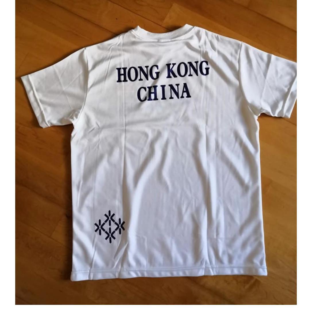 香港運動員代表隊T-Shirt 中碼