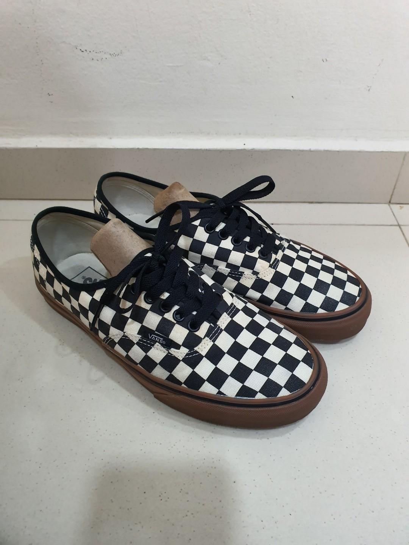 Vans Checkerboard Gum Sole, Men's