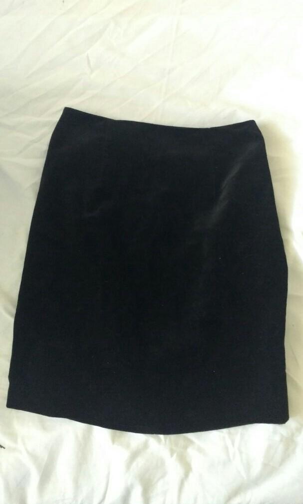 Velvet Skirt #swapau