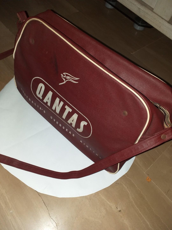 Sac de voyage Qantas Vintage