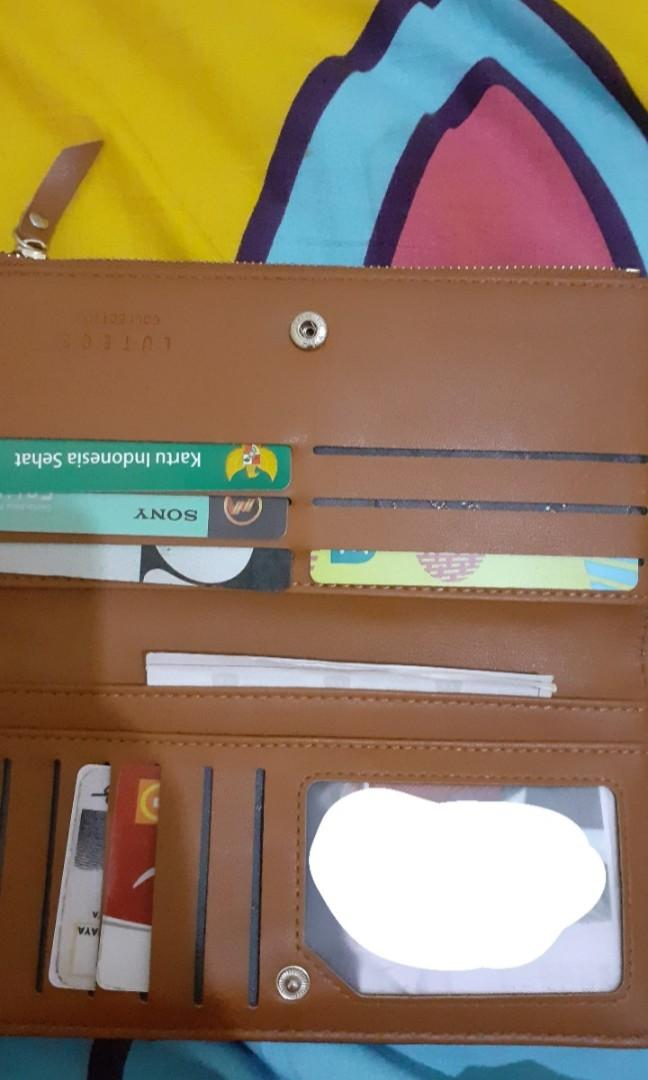 Wallet brown lutece collection (dompet)