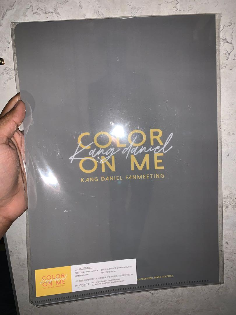 Wannaone Kang Daniel Color On Me Official L Holder