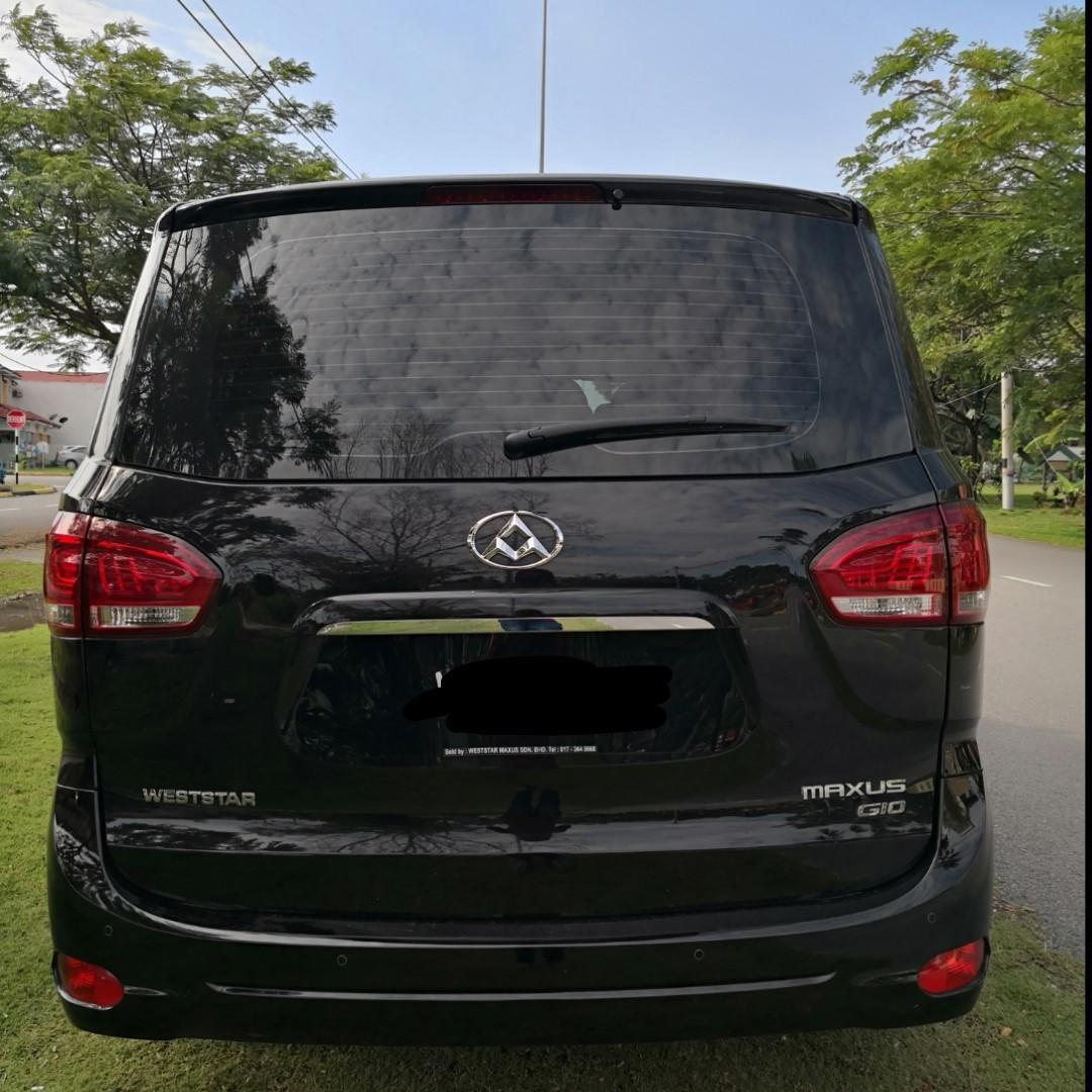 Weststar Maxus G10 Turbo 2.0 (A) Kereta Sewa MPV Selangor KL