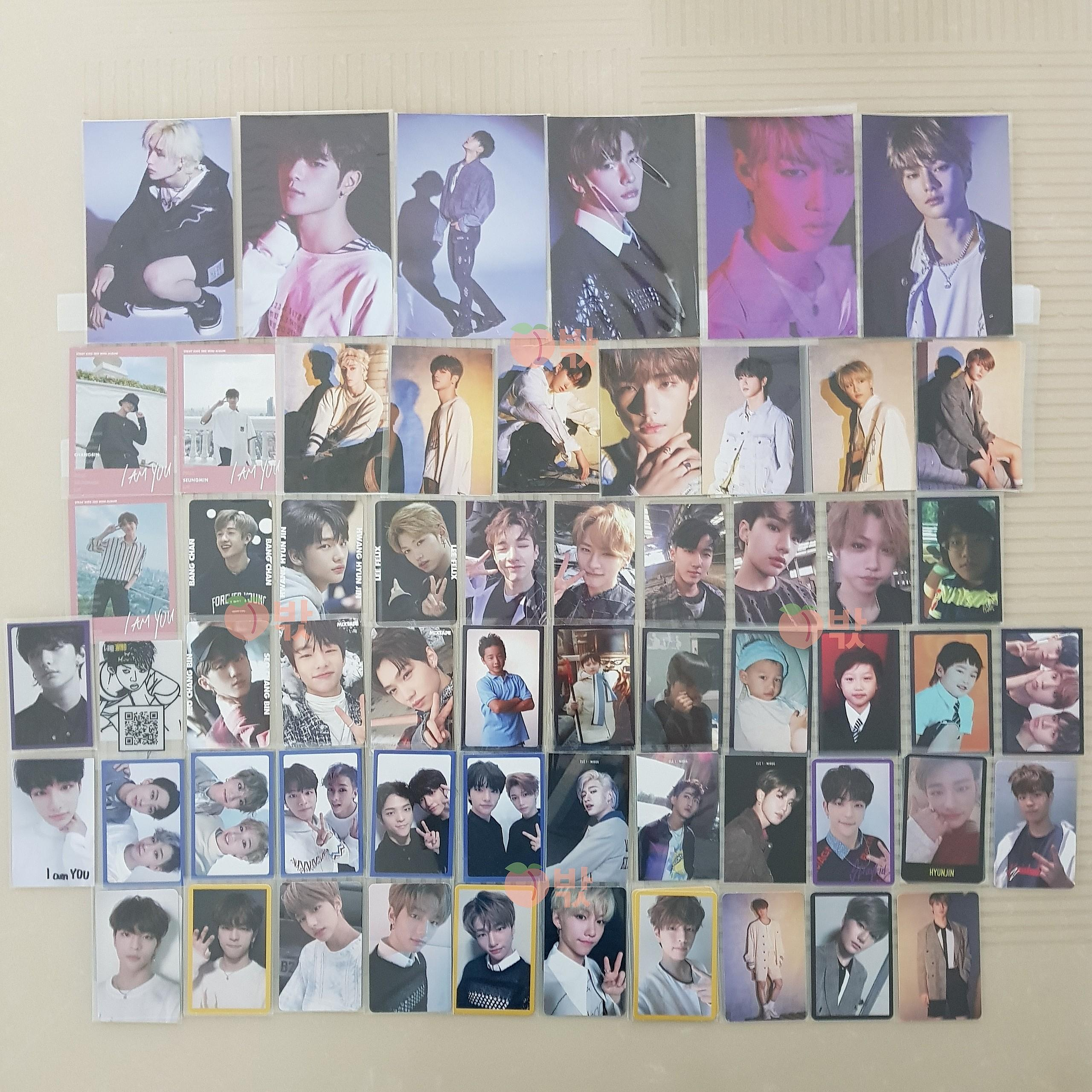 [WTS / WTT] Stray Kids Album Photocards & Postcards
